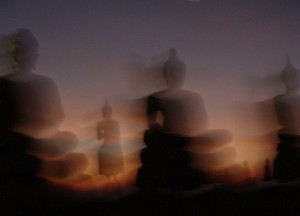 Buddha statues - art photo from Thailand