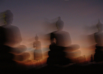 Buddha statues - art photo from Thailand