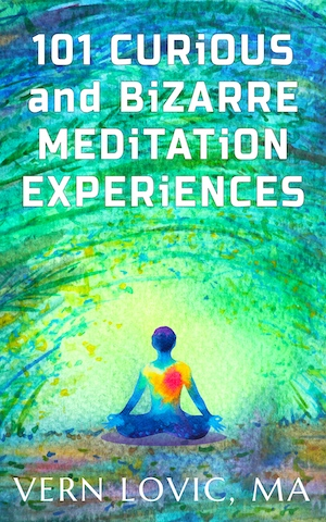 Cover of 101 Curious and Bizarre Meditation Experiences book by Vern Lovic