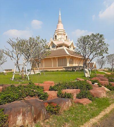 Meditation center in Ang Thong province, north of Bangkok, Thailand.